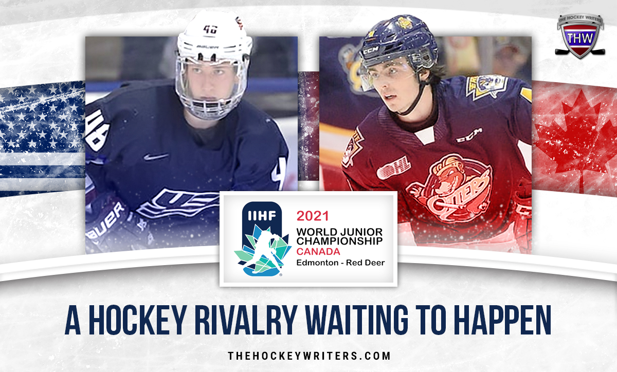 Jake Sanderson and Jamie Drysdale: A Hockey Rivalry Waiting to Happen WJC 2021