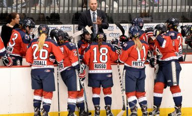Shorthanded Riveters Drop Inaugural Game in New Home