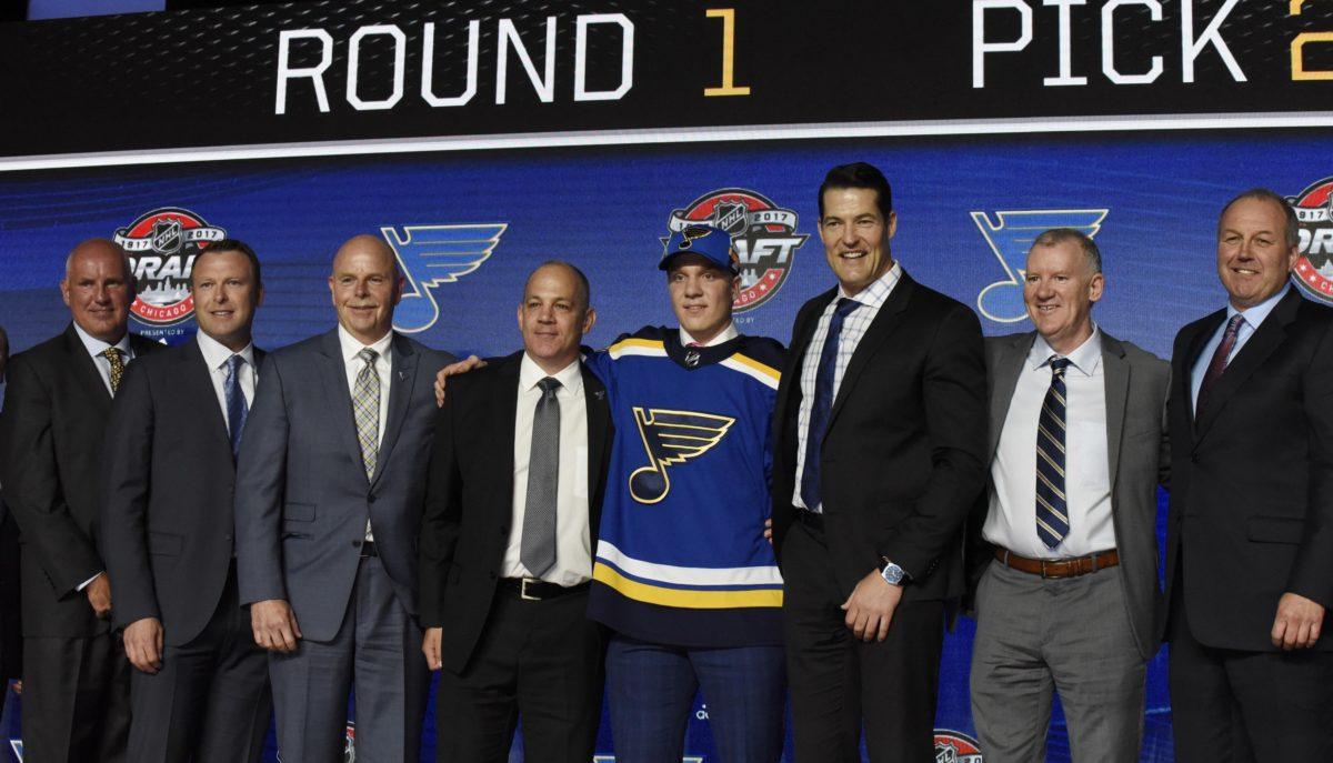 Robert Thomas, St. Louis Blues, NHL, London Knights, OHL