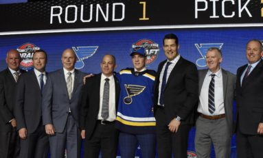 St. Louis Blues Successful Prospect Camp