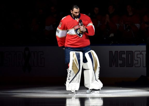 Roberto Luongo, Florida Panthers
