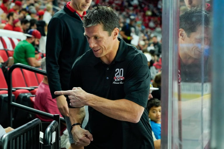 head coach Rod Brind'Amour