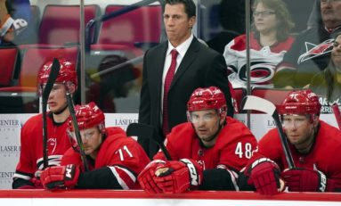 Brind'Amour Leading Another Playoff Run, This Time as Coach