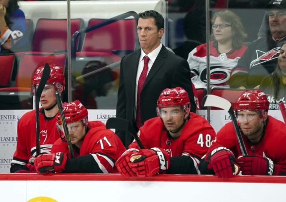 Hurricanes head coach Rod Brind'Amour