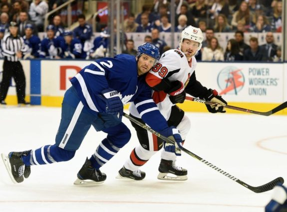 Maple Leafs defenceman Ron Hainsey