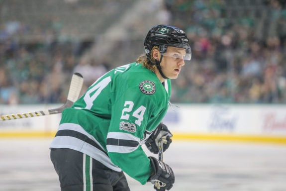 Dallas Stars left wing Roope Hintz- Stars roster built to win now and years to come