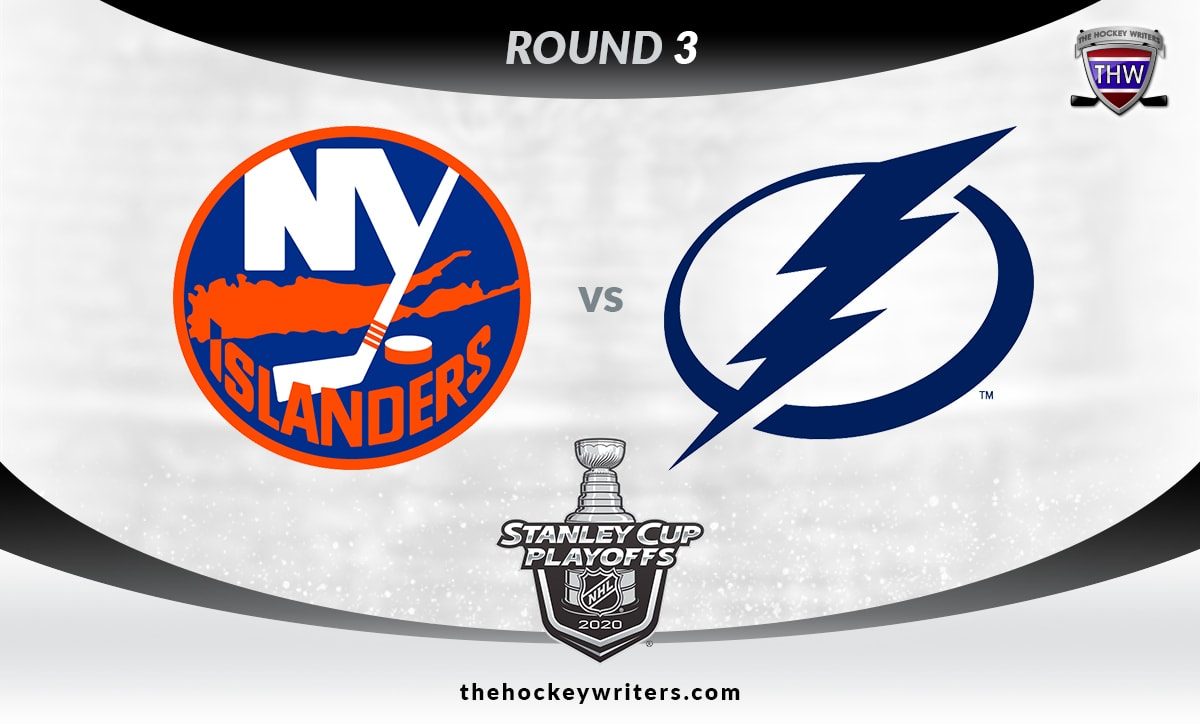 NHL 2020 Stanley Cup Playoffs Round 3 Tampa Bay Lightning vs New York Islanders