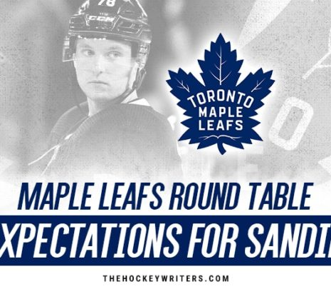 Maple Leafs Round Table: Setting Expectations for Rasmus Sandin