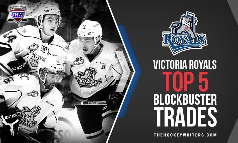 Brayden Tracey, Tanner Kaspick, and Travis Brown Victoria Royals Top 5 Blockbuster Trades