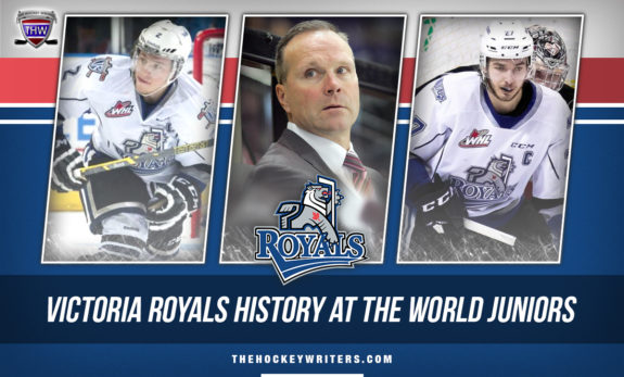 Victoria Royals History at the World Juniors Joe Hicketts, Phillip Schultz and Dave Lowry