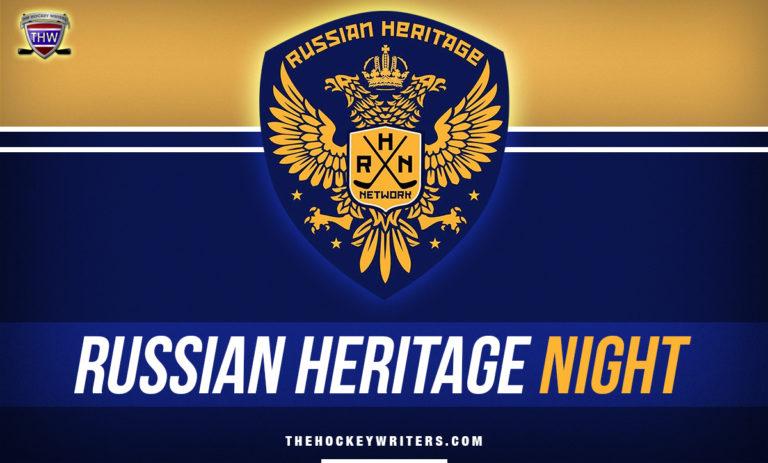 Russian Heritage Night Highlights Culture & Unites Hockey Community
