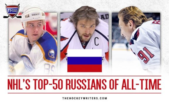 The NHL's Top-50 Russians of All-Time