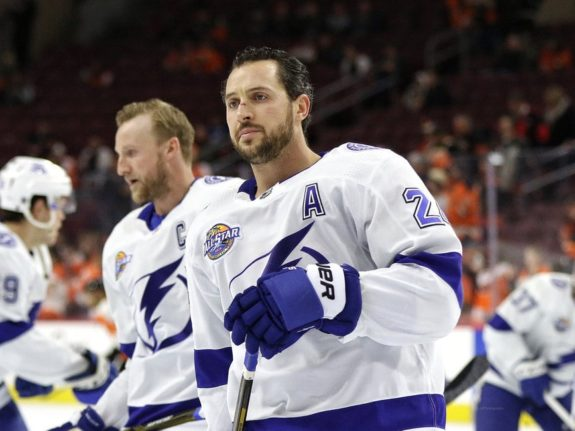 Ryan Callahan #24, Tampa Bay Lightning