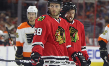 Connecting Blackhawks' Rising Stars Hartman & Hinostroza
