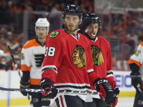 Ryan Hartman, Vinnie Hinostroza, Chicago Blackhawks