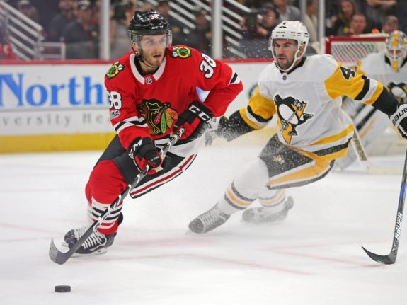 Chicago Blackhawks left wing Ryan Hartman