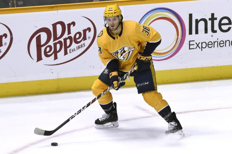 Nashville Predators right wing Ryan Hartman (AP Photo/Mark Zaleski, File)