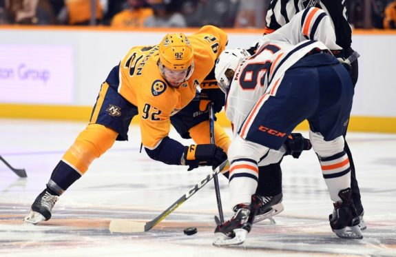 Predators center Ryan Johansen