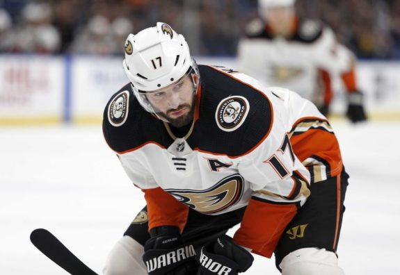 Ducks center Ryan Kesler