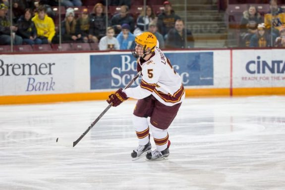 Ryan Lindgren University of Minnesota Golden Gophers.