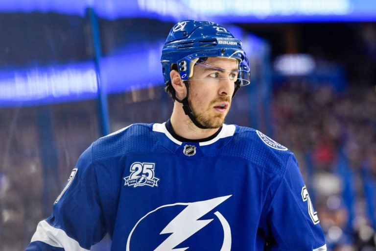 Lightning defender Ryan McDonagh