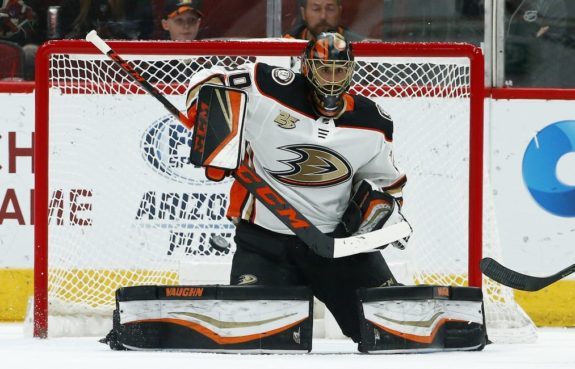 Anaheim Ducks Ryan Miller