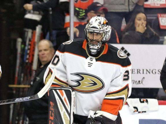 Ryan Miller Anaheim Ducks