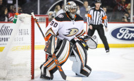 Miller Stops 31 Shots; Ducks Hang on to Beat Sabres 3-2