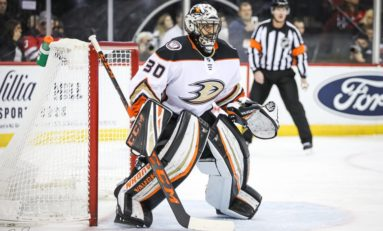 Miller Stops 31 Shots; Ducks Hang on to Beat Sabres 3-2