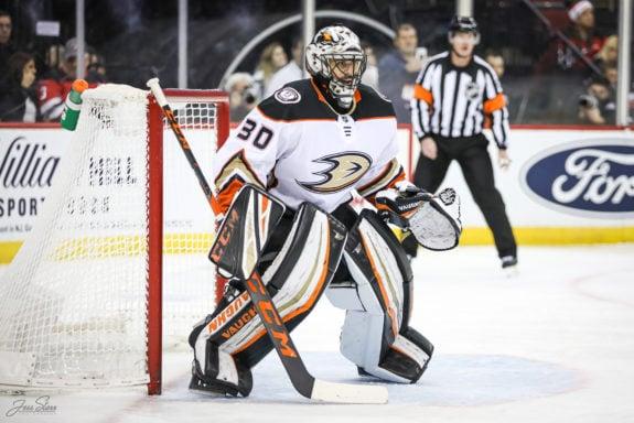 Ryan Miller Anaheim Ducks