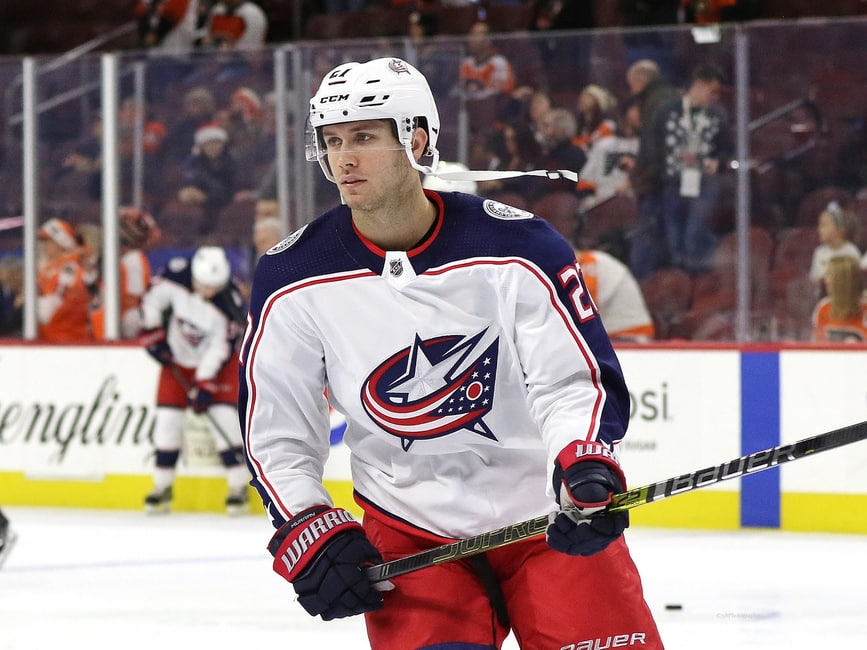 Ryan Murray #27, Columbus Blue Jackets