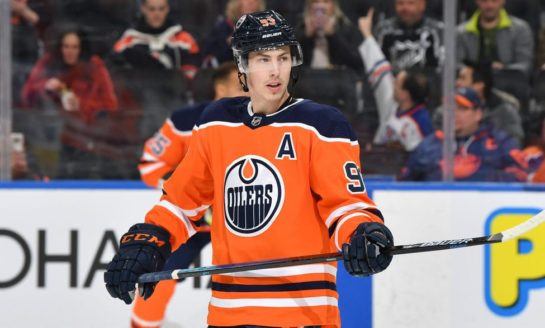 Oilers' Nugent-Hopkins Joins Team's Decade Club as Free Agency Looms