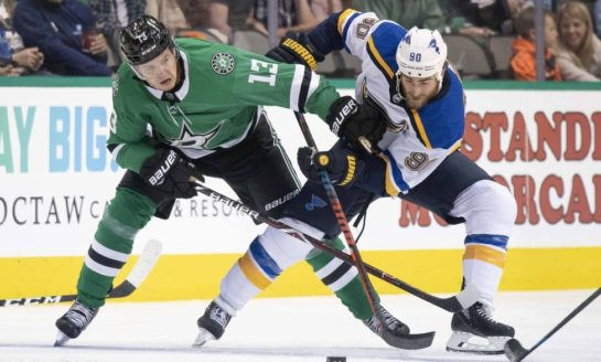 Stars Will Have Hands Full vs. Blues in Round 2