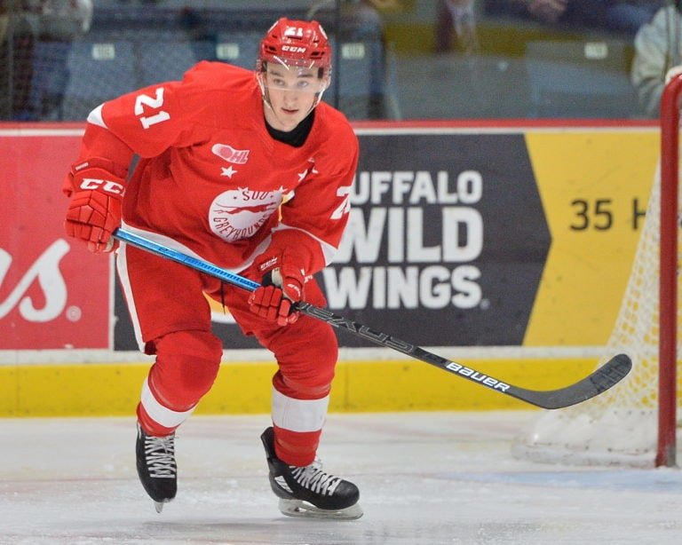 Ryan O'Rourke Sault Ste. Marie Greyhounds