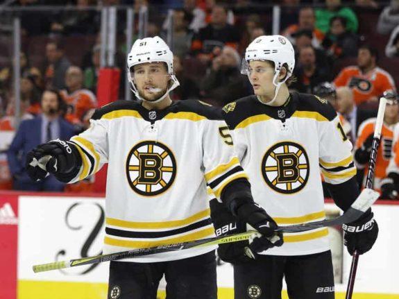 Ryan Spooner Anders Bjork Bruins