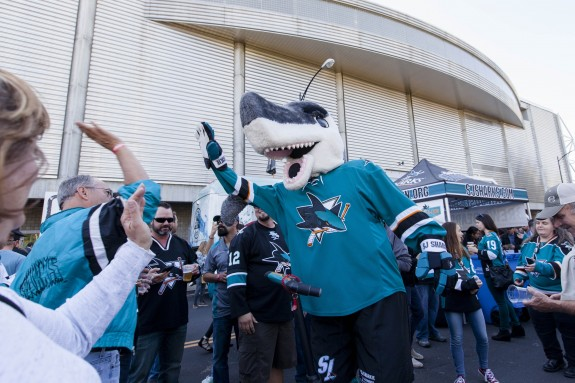(John Hefti-USA TODAY Sports) I do foresee the San Jose Sharks and their fans having plenty more to celebrate this coming season.