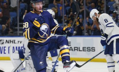 Sabres' Olofsson, NHL Rookie Scoring Leader, out 5-6 Weeks