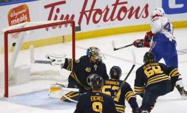 Johansson Scores in OT as Sabres Beat Canadiens 5-4