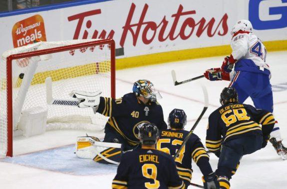 Buffalo Sabres Carter Hutton Montreal Canadiens Joel Armia