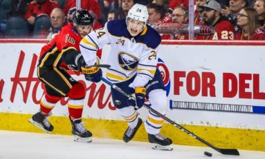 Buffalo Sabres Call up Defenceman Lawrence Pilut From AHL
