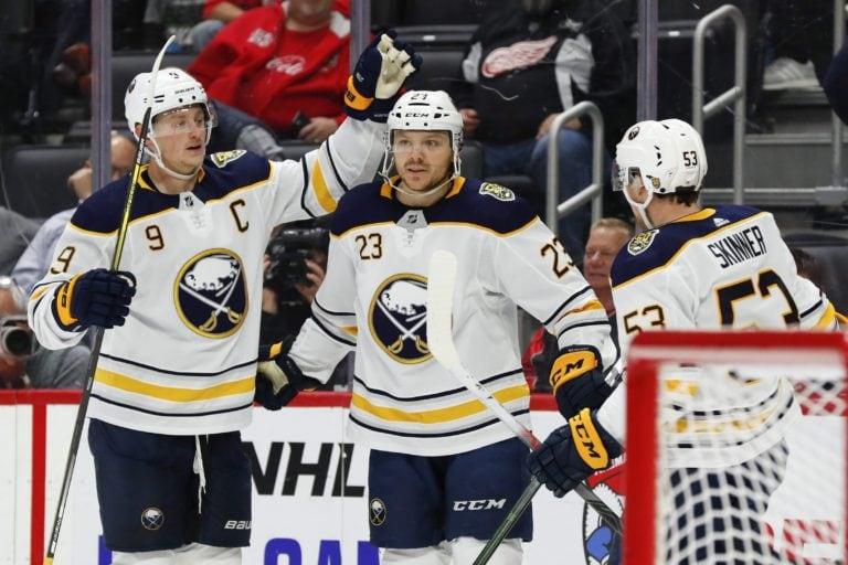 Buffalo Sabres Sam Reinhart Jack Eichel Jeff Skinner