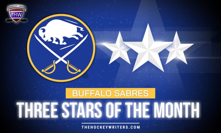 Buffalo Sabres Three Stars of the Month