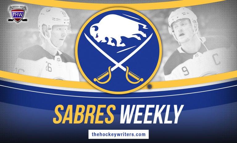 Buffalo Sabres Weekly Jack Eichel Rasmus Dahlin