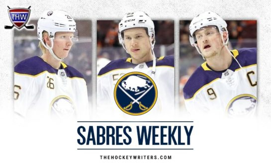 Sabres Weekly: Depth, Reasons for Concern, Matej Pekar and More