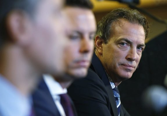 Colorado Avalanche general manager Joe Sakic