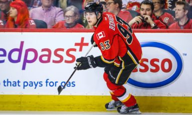 Flames' Feisty Bennett Proving to Be Key Spark Plug