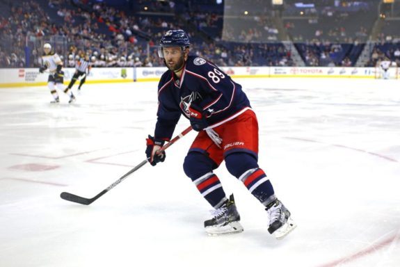 Sam Gagner Columbus Blue Jackets