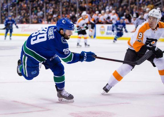 Vancouver Canucks winger Sam Gagner
