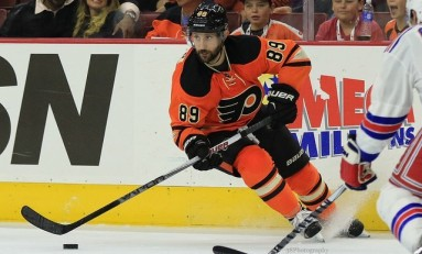 Ex-Coyote Gagner Finds Home With Flyers