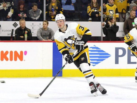 Sam Lafferty Pittsburgh Penguins